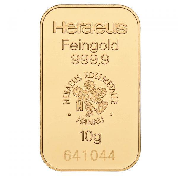 zlatna pločica 10g investiciono zlato