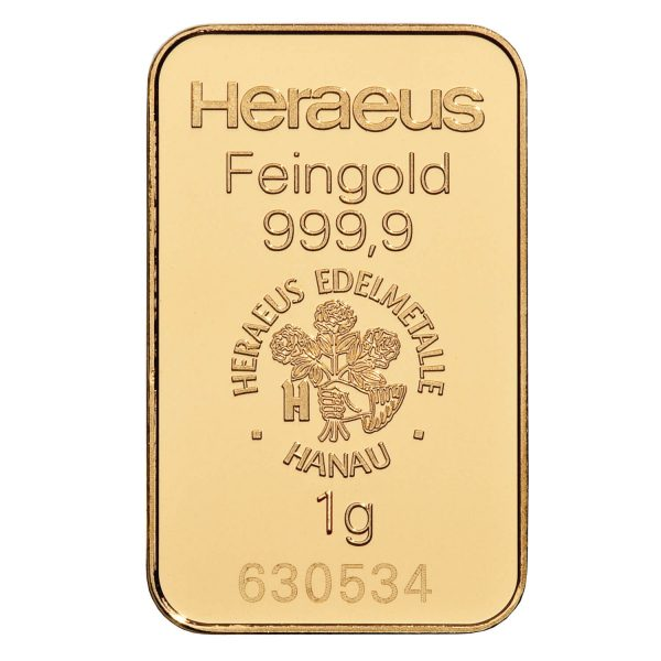 zlatna pločica 1g investiciono zlato