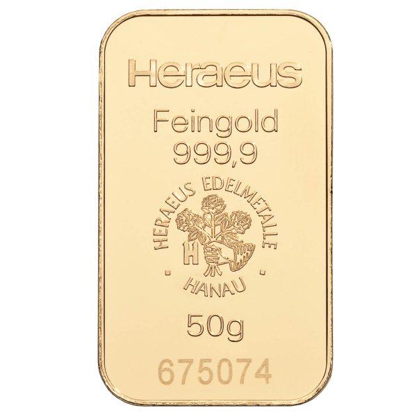 zlatna pločica 50g investiciono zlato