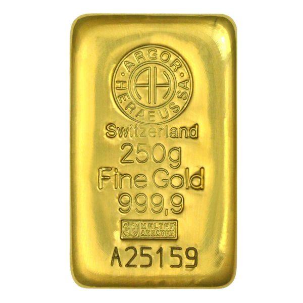 zlatna pločica 250g
