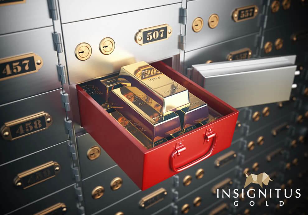 investiciono zlato čuvanje u sefu