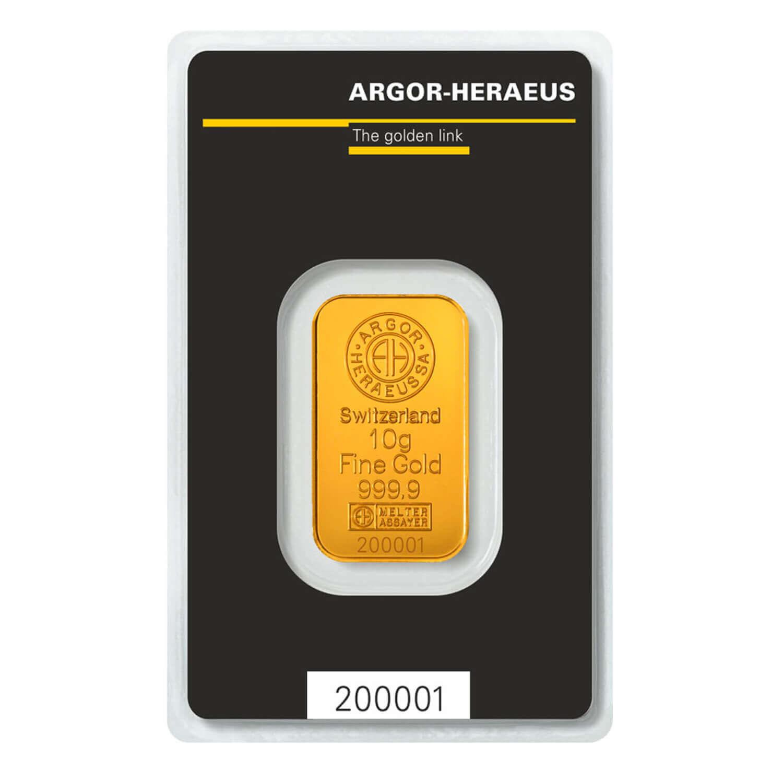 Zlatna pločica od 10 grama